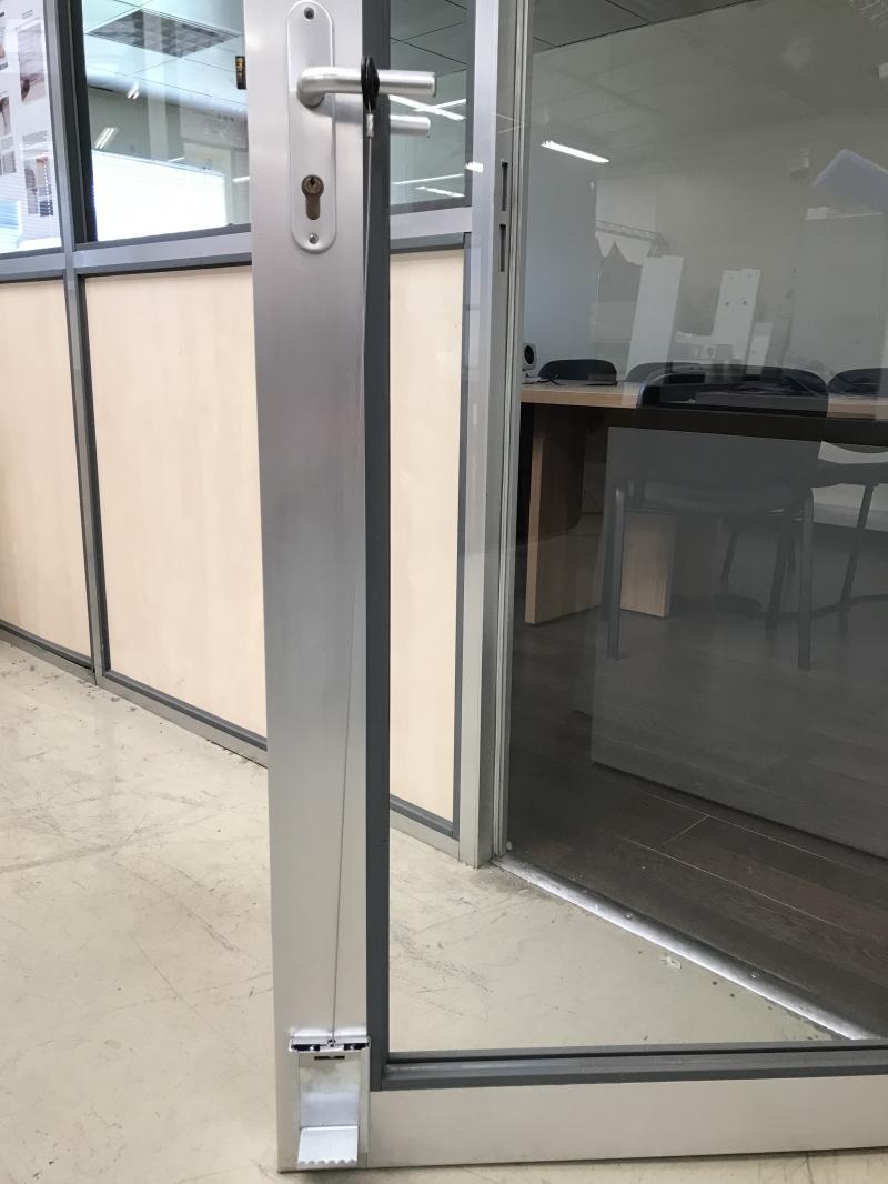 Ouverture de porte